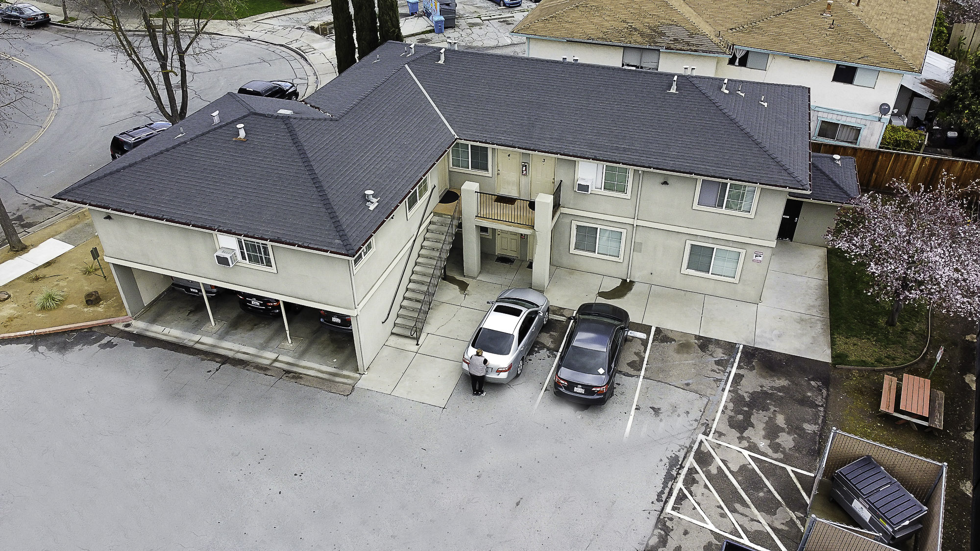 7460 Rogers Lane building frontage aerial image