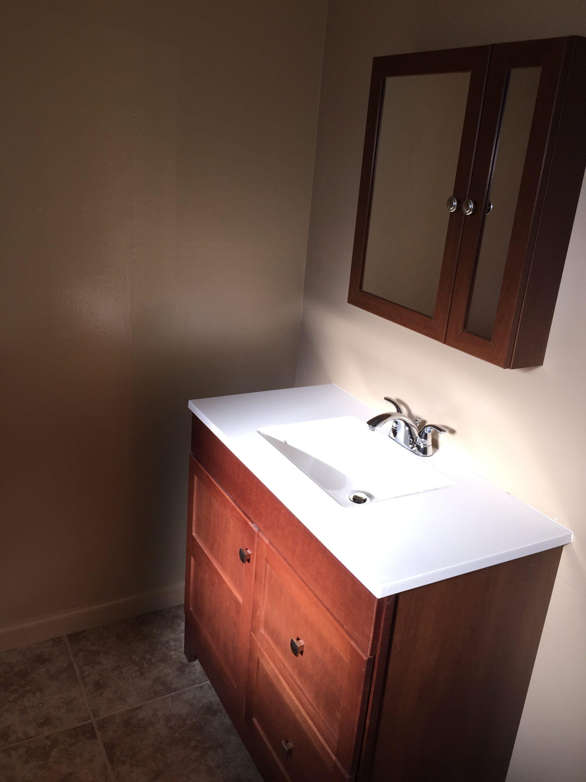 837nNorthrup Unit A bathroom sink